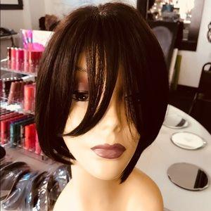 Accessories - Wig Alopecia Hairloss Chemo Bob Style Brown Wig
